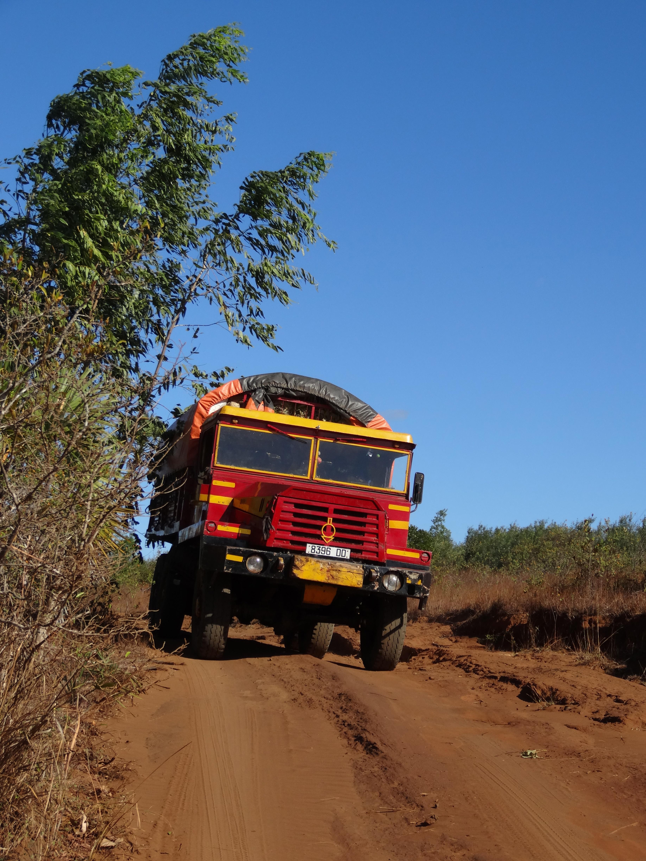Unterwegs zu Tseingy Ruge