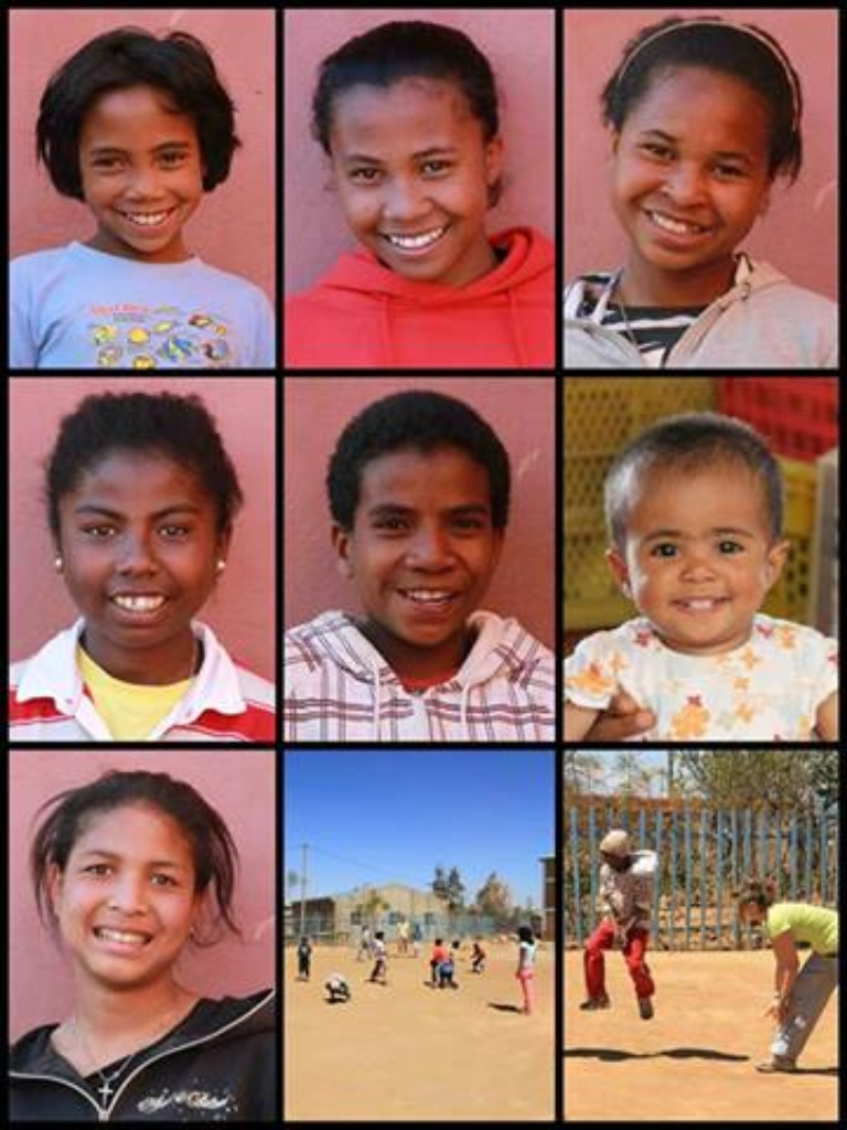 The Kids von Compassion Mangoraka, July 2013