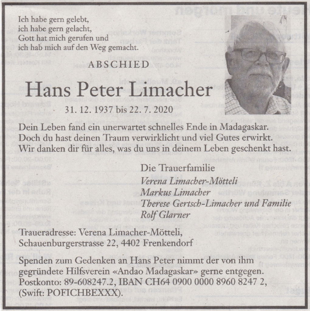 Hans Peter Limacher